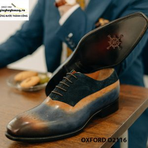 Giày da nam siêu phẩm cho giám đốc Oxford O2116 004