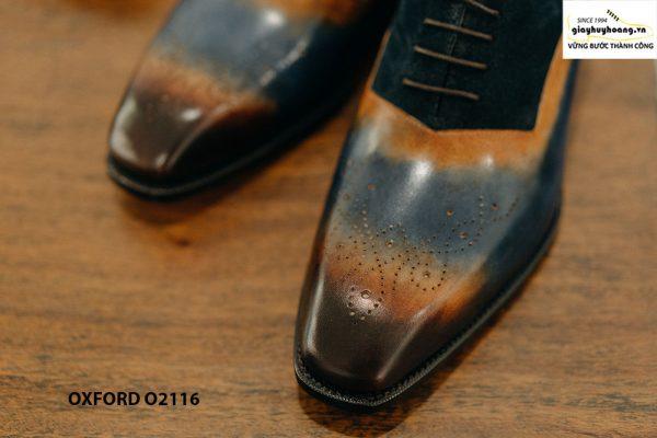 Giày da nam siêu phẩm cho giám đốc Oxford O2116 003