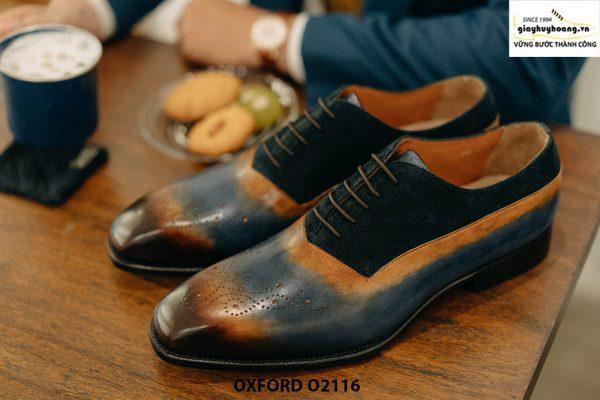 Giày da nam siêu phẩm cho giám đốc Oxford O2116 001