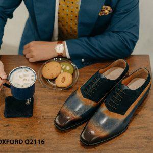 Giày da nam siêu phẩm cho giám đốc Oxford O2116 002
