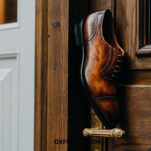Giày da nam da bò hảo hạng Oxford O2108 003