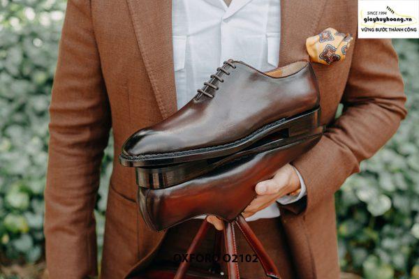 Giày da nam chính hãng chất lượng Oxford O2102 006
