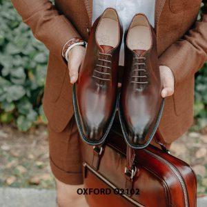 Giày da nam chính hãng chất lượng Oxford O2102 001