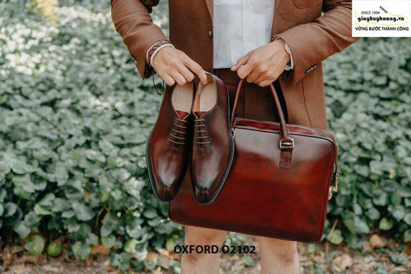 Giày da nam chính hãng chất lượng Oxford O2102 004
