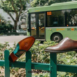 Giày da nam chính hãng chất lượng Oxford O2102 002