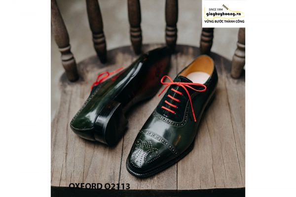 Giày da nam được làm từ thủ công Oxford O2113 004