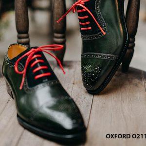 Giày da nam được làm từ thủ công Oxford O2113 002