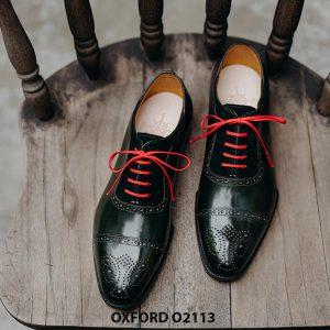 Giày da nam được làm từ thủ công Oxford O2113 001