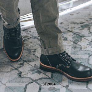 Giày da Boot nam cổ cao đen trẻ trung BT2084 005