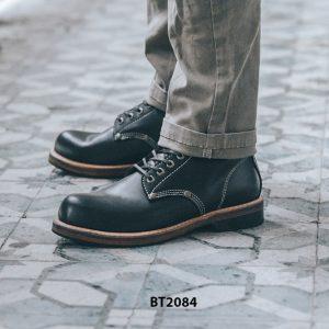 Giày da Boot nam cổ cao đen trẻ trung BT2084 003