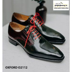 Giày da nam phong cách thời trang chỉnh chu O2112 002