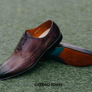 Giày tây nam có màu sắc lạ Oxford O2092 004