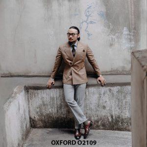 Giày da nam hàng hiệu cao cấp Oxford O2109 004