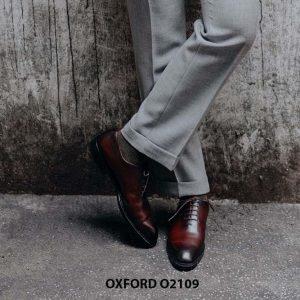Giày da nam hàng hiệu cao cấp Oxford O2109 003