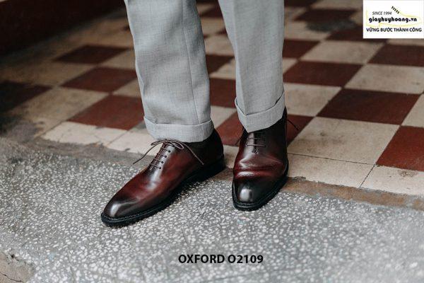 Giày da nam hàng hiệu cao cấp Oxford O2109 001