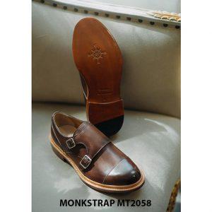 Giày da nam mạnh mẽ Double Monkstrap MT2058 005