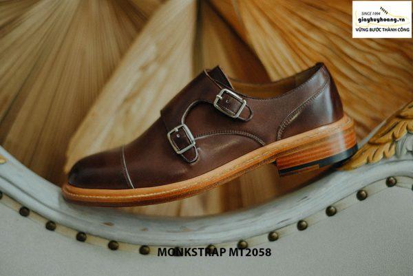 Giày da nam mạnh mẽ Double Monkstrap MT2058 001