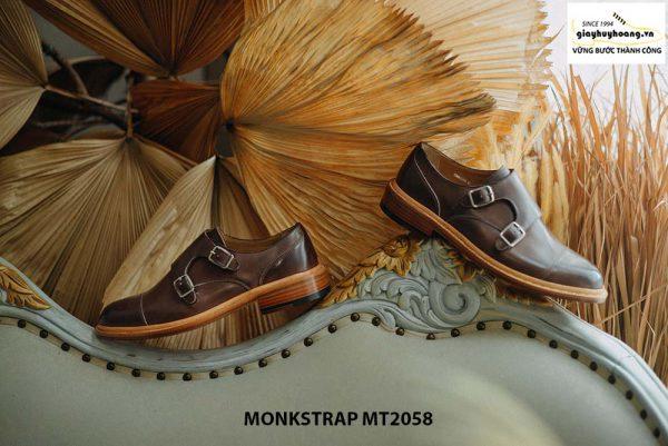 Giày da nam mạnh mẽ Double Monkstrap MT2058 003
