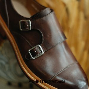 Giày da nam mạnh mẽ Double Monkstrap MT2058 002