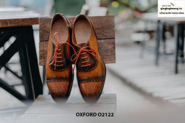 Giày da nam được làm từ thủ công Oxford O2122 003