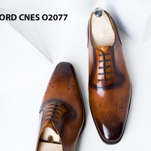 Giày da nam sáng tạo phong cách Oxford O2077 004