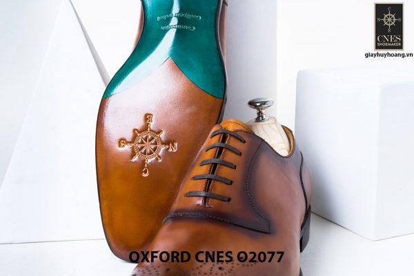 Giày da nam sáng tạo phong cách Oxford O2077 003