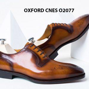 Giày da nam sáng tạo phong cách Oxford O2077 002