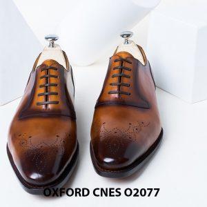 Giày da nam sáng tạo phong cách Oxford O2077 001