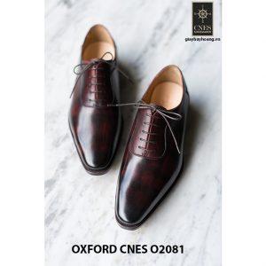 Giày da nam chất lượng tốt nhất Oxford O2081 004
