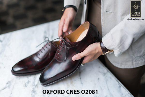 Giày da nam chất lượng tốt nhất Oxford O2081 001