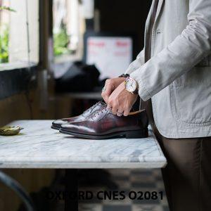 Giày da nam chất lượng tốt nhất Oxford O2081 003