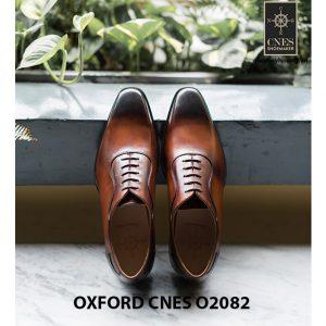 Giày tây nam mũi trơn không hoạ tiết Oxford O2082 002