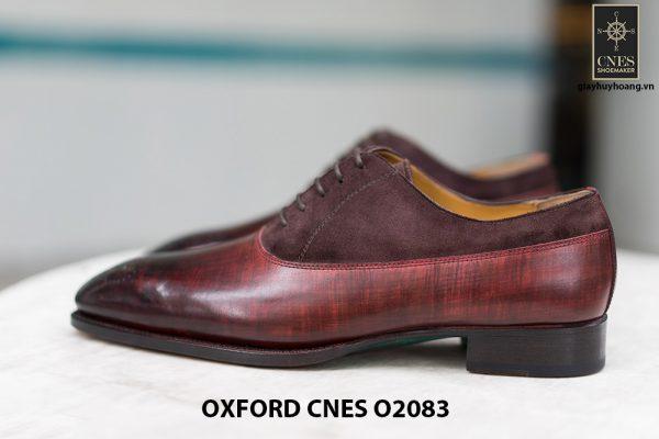 Giày tây nam phối da lộn thời trang Oxford O2083 009