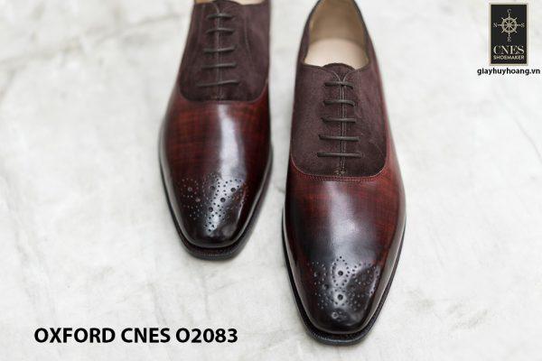 Giày tây nam phối da lộn thời trang Oxford O2083 008