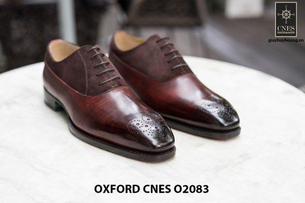 Giày tây nam phối da lộn thời trang Oxford O2083 001