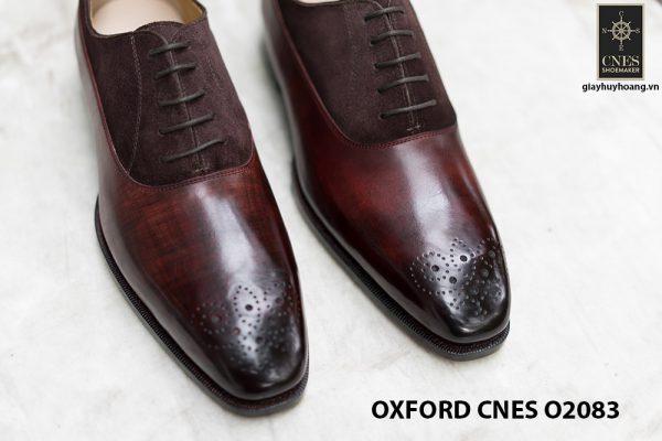 Giày tây nam phối da lộn thời trang Oxford O2083 007