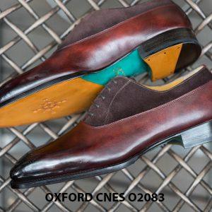 Giày tây nam phối da lộn thời trang Oxford O2083 004