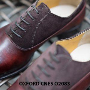 Giày tây nam phối da lộn thời trang Oxford O2083 003