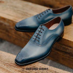 Giày buộc dây nam hàng hiệu cao cấp Oxford O2091 006