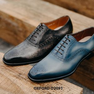 Giày buộc dây nam hàng hiệu cao cấp Oxford O2091 001