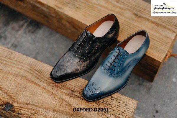 Giày buộc dây nam hàng hiệu cao cấp Oxford O2091 004