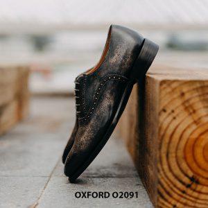 Giày buộc dây nam hàng hiệu cao cấp Oxford O2091 003