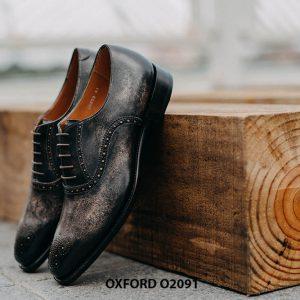 Giày buộc dây nam hàng hiệu cao cấp Oxford O2091 002