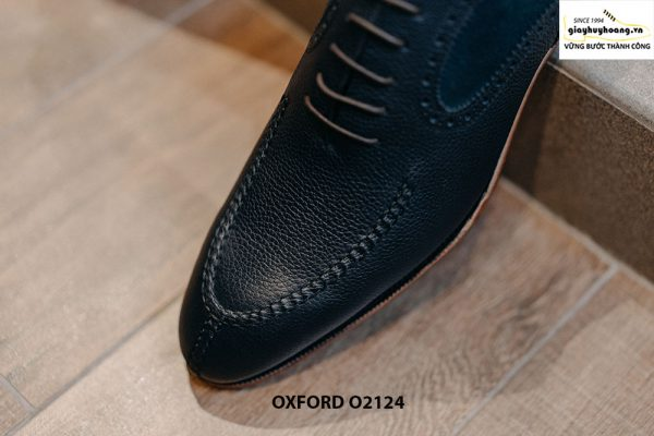 Giày tây nam da bê cao cấp Oxford O2124 003