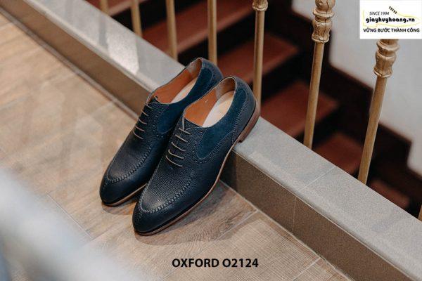 Giày tây nam da bê cao cấp Oxford O2124 001