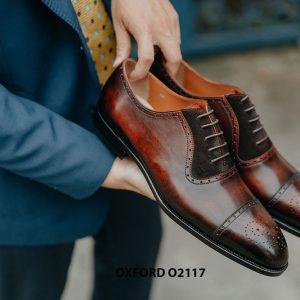 Giày da nam công sở mẫu đẹp Oxford O2117 004