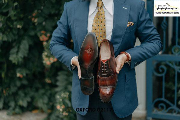 Giày da nam công sở mẫu đẹp Oxford O2117 003