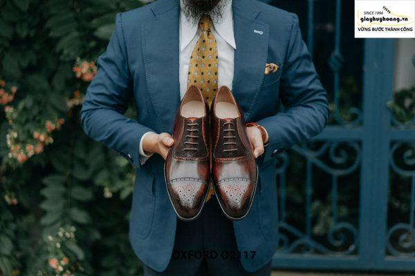 Giày da nam công sở mẫu đẹp Oxford O2117 001