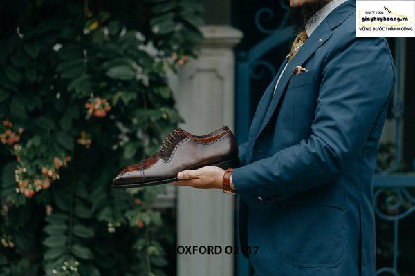 Giày da nam công sở mẫu đẹp Oxford O2117 002