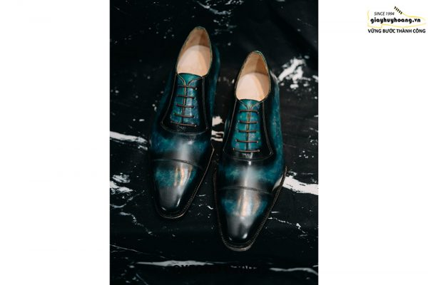 Giày tây nam cảm hứng từ đại dương Oxford O2093 001